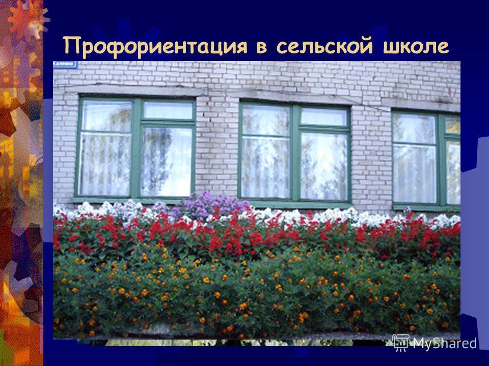 Профориентация в сельской школе Школа, живущая на земле, не имеет права быть нищей.