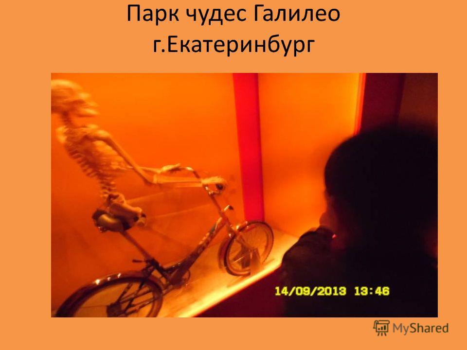 Парк чудес Галилео г.Екатеринбург