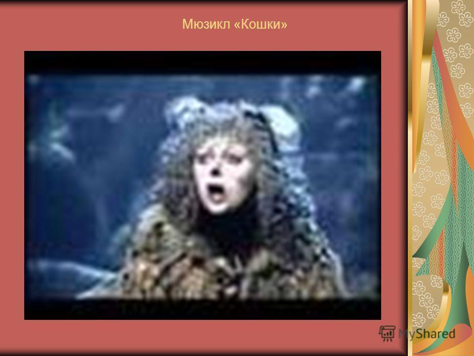 Кошки в кинофильмах и опере Мюзикл «Кошки»