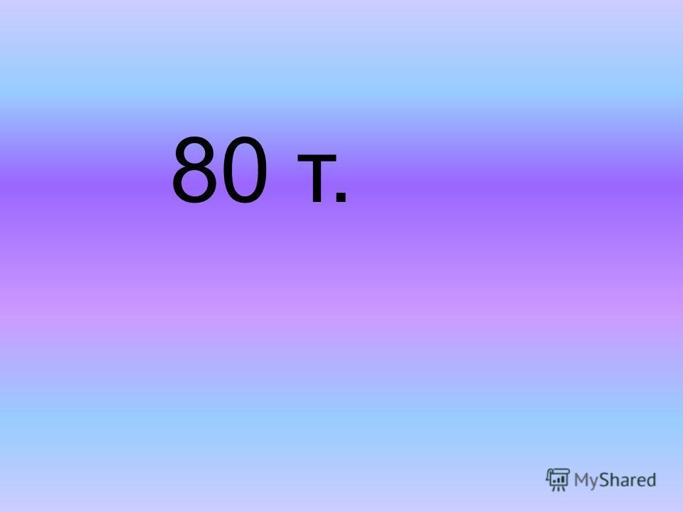 80 т.