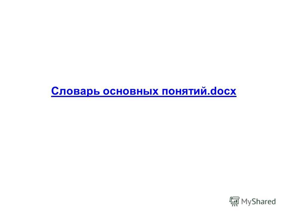 Словарь основных понятий.docx