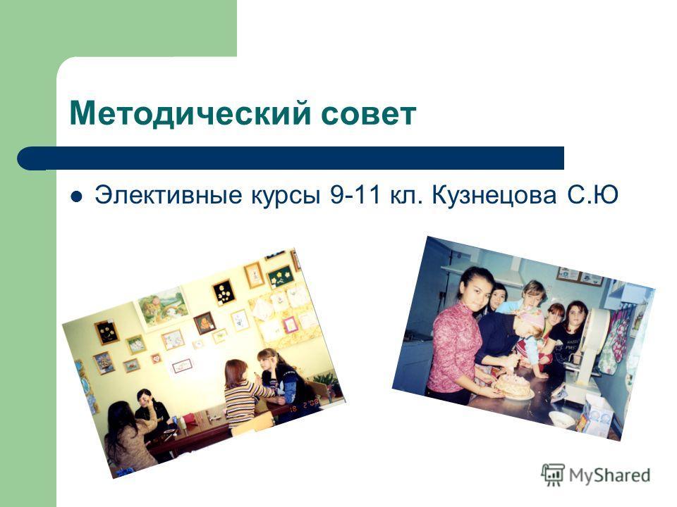 Методический совет Элективные курсы 9-11 кл. Кузнецова С.Ю