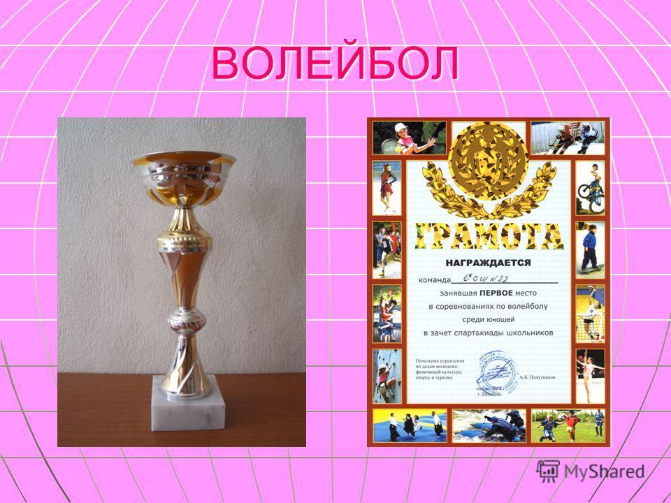 декабрь 2007 года городские соревнования ВОЛЕЙБОЛ юноши сборная 9-х, 10-х,11-х классов I место