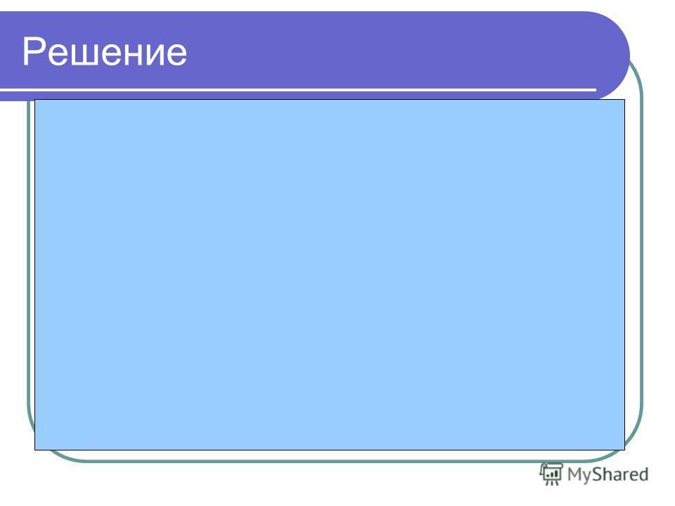 Решение 3. Определим количество информации, которое несет один символ сообщения: 9000 бит : 4500 символов = 2 бит/символ