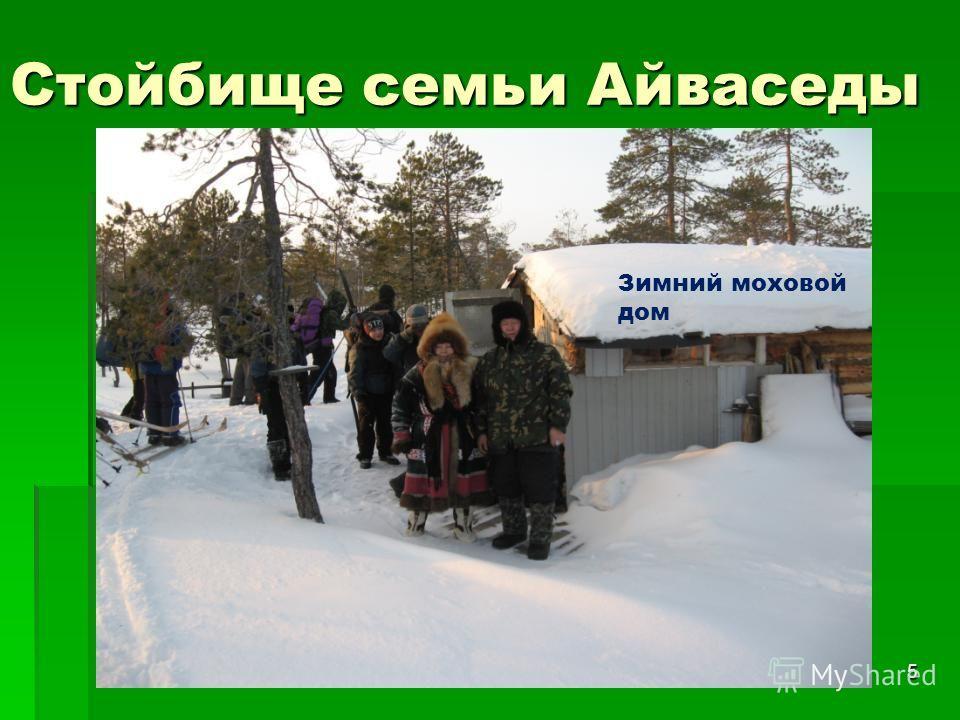 5 Стойбище семьи Айваседы Зимний моховой дом