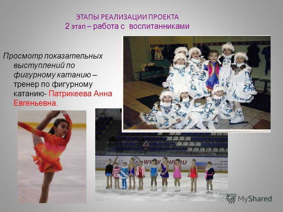 Просмотр показательных выступлений по фигурному катанию – тренер по фигурному катанию- Патрикеева Анна Евгеньевна.