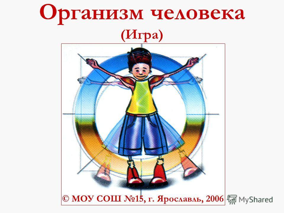 Организм человека (Игра) © МОУ СОШ 15, г. Ярославль, 2006