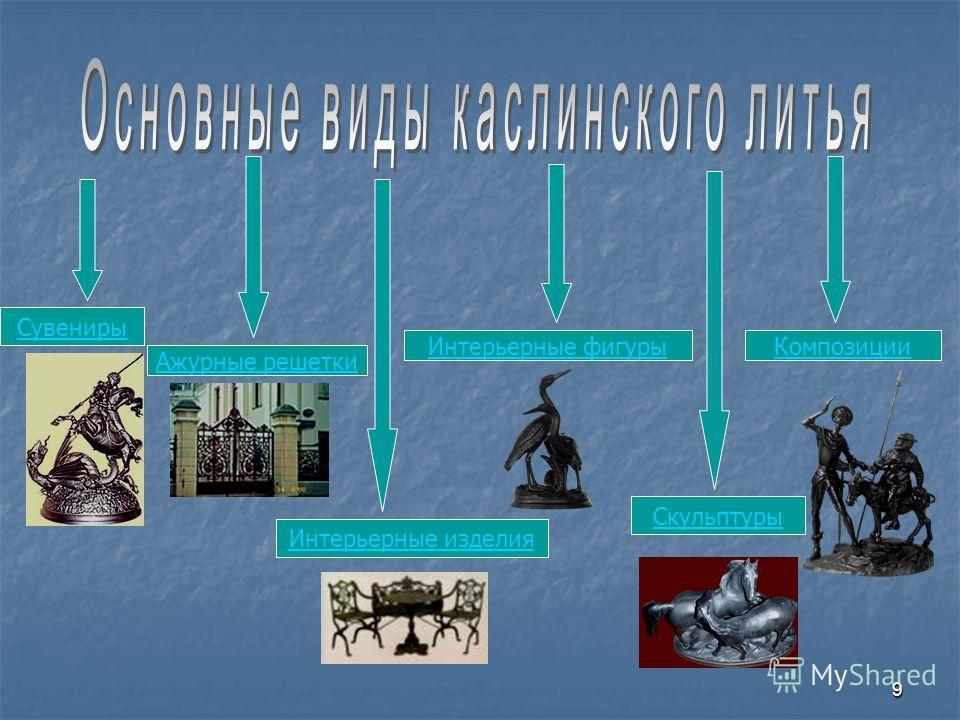 9 Сувениры Ажурные решетки Интерьерные изделия Интерьерные фигуры Скульптуры Композиции