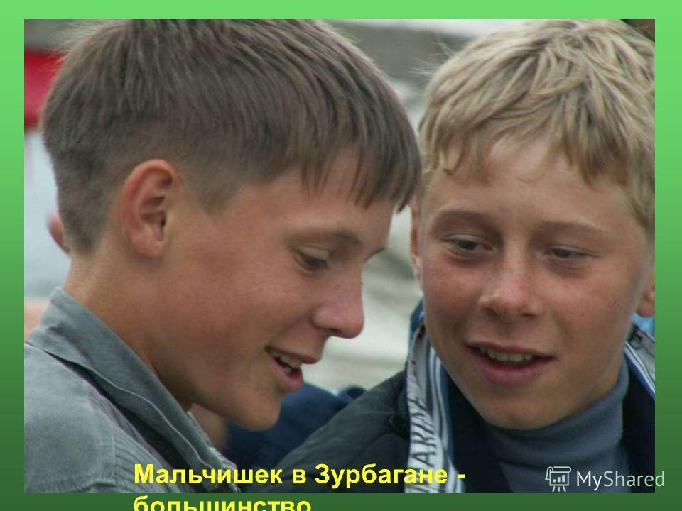 Мальчишек в Зурбагане - большинство