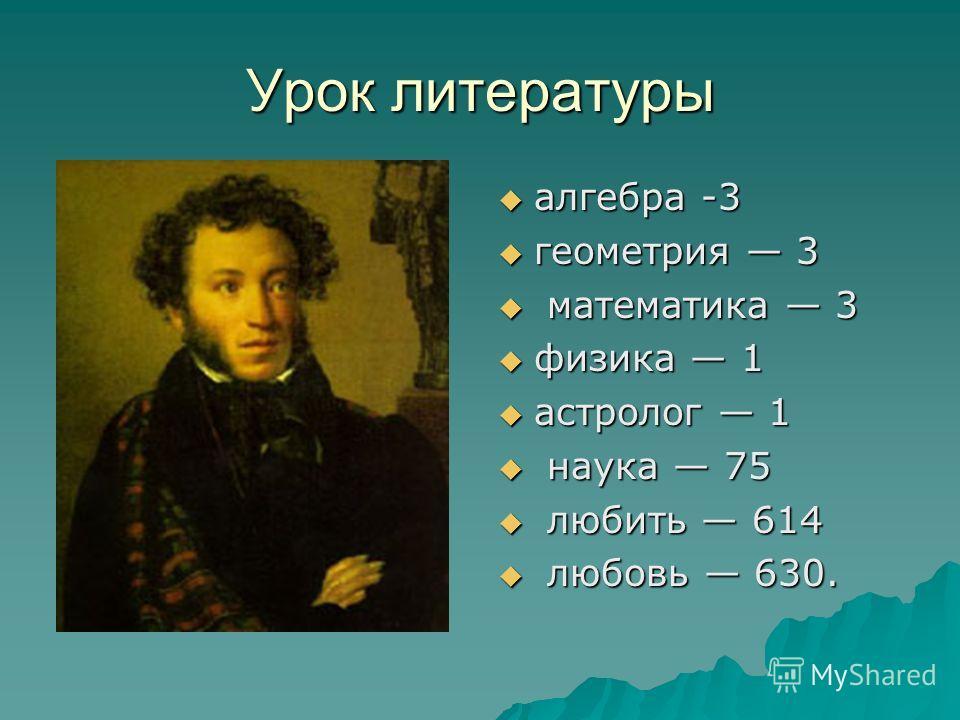 Урок литературы алгебра -3 алгебра -3 геометрия 3 геометрия 3 математика 3 математика 3 физика 1 физика 1 астролог 1 астролог 1 наука 75 наука 75 любить 614 любить 614 любовь 630. любовь 630.