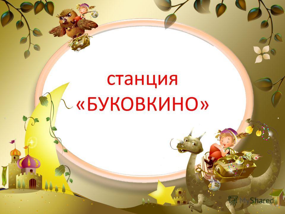станция «БУКОВКИНО»