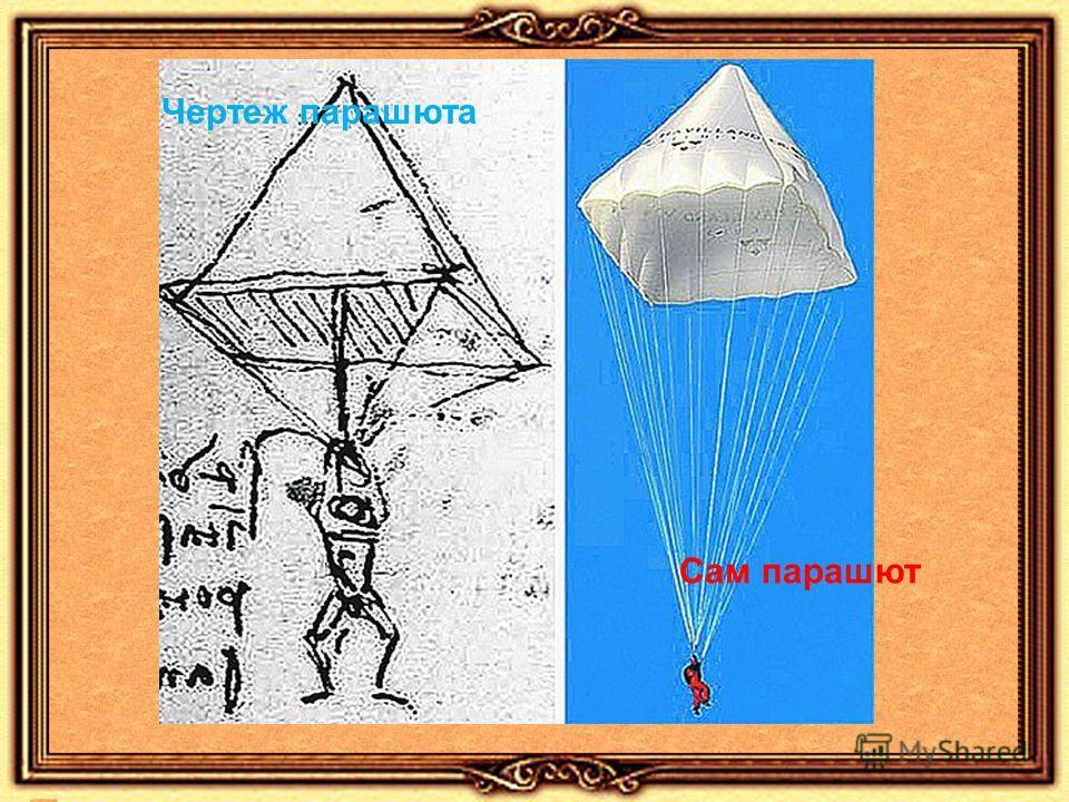 Чертеж парашюта Сам парашют
