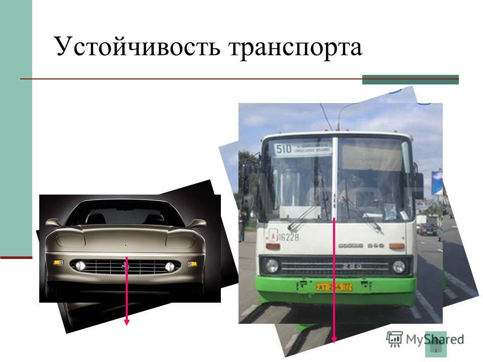 Устойчивость транспорта