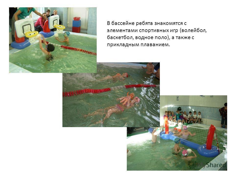 Игры знакомящие с элементами прикладного плавания