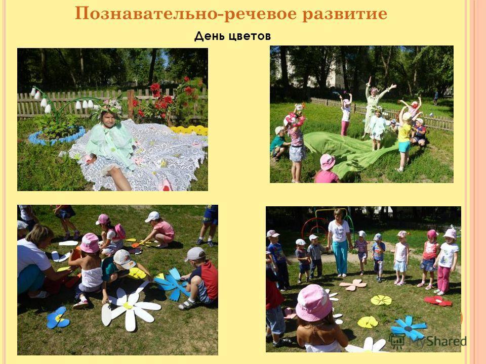 Познавательно-речевое развитие День цветов