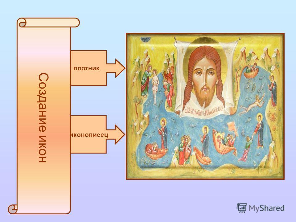 иконописец плотник Создание икон