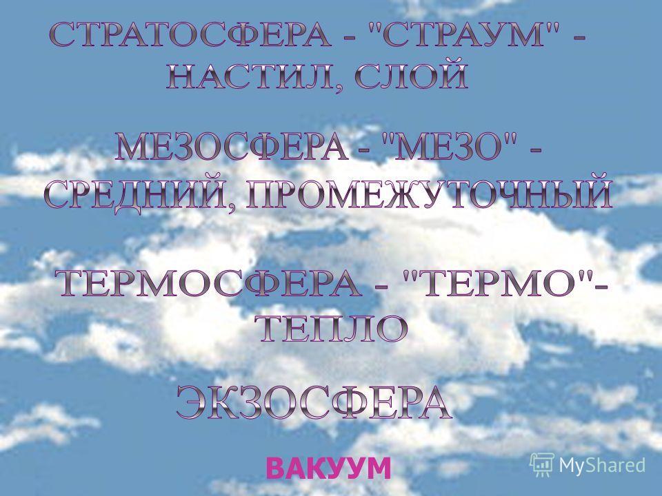 ВАКУУМ