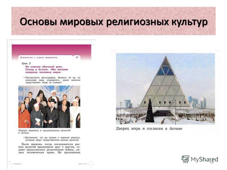 Основы мировых религиозных культур 48