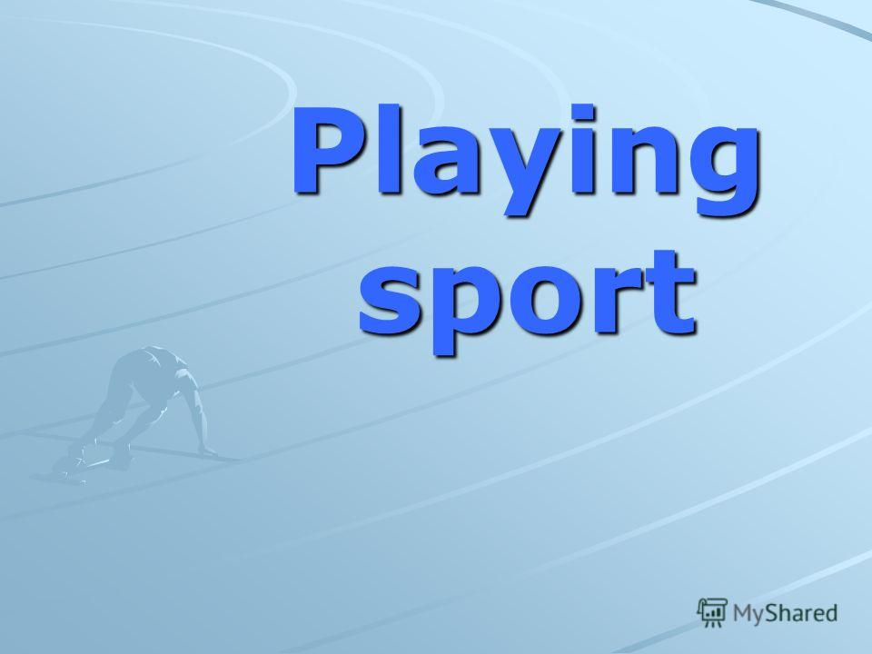Playingsport