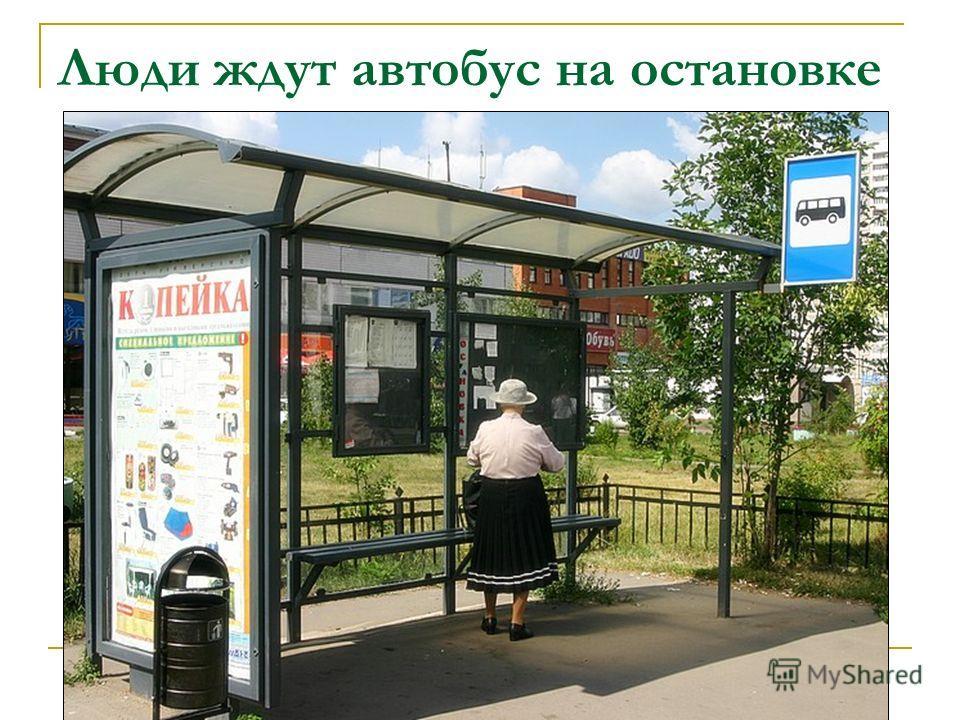 А вот едет автобус
