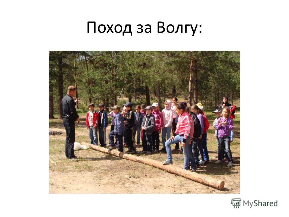 Поход за Волгу: