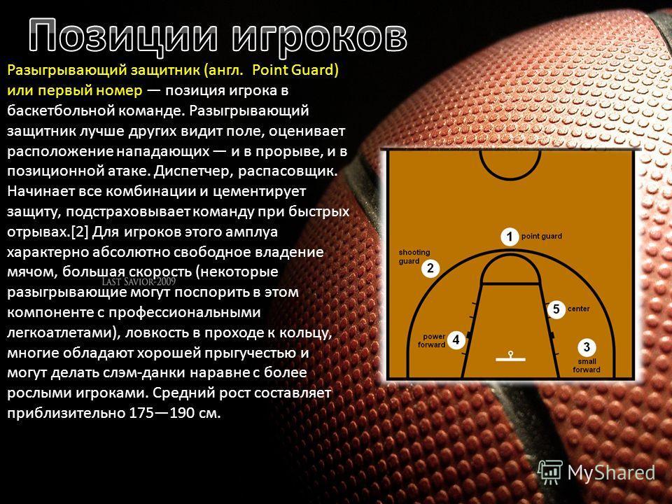 в баскетбольной команде