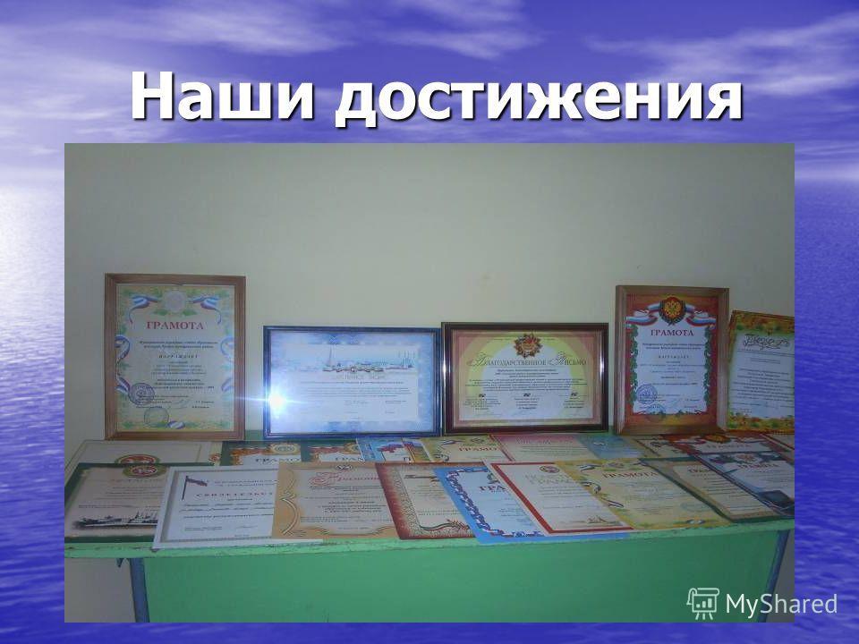 Наши достижения Наши достижения