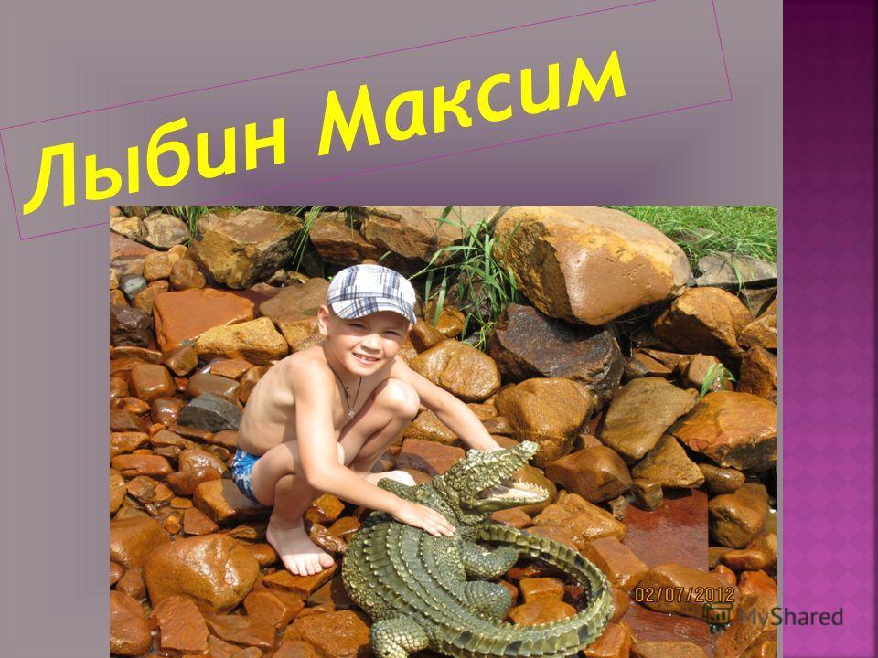 Лыбин Максим