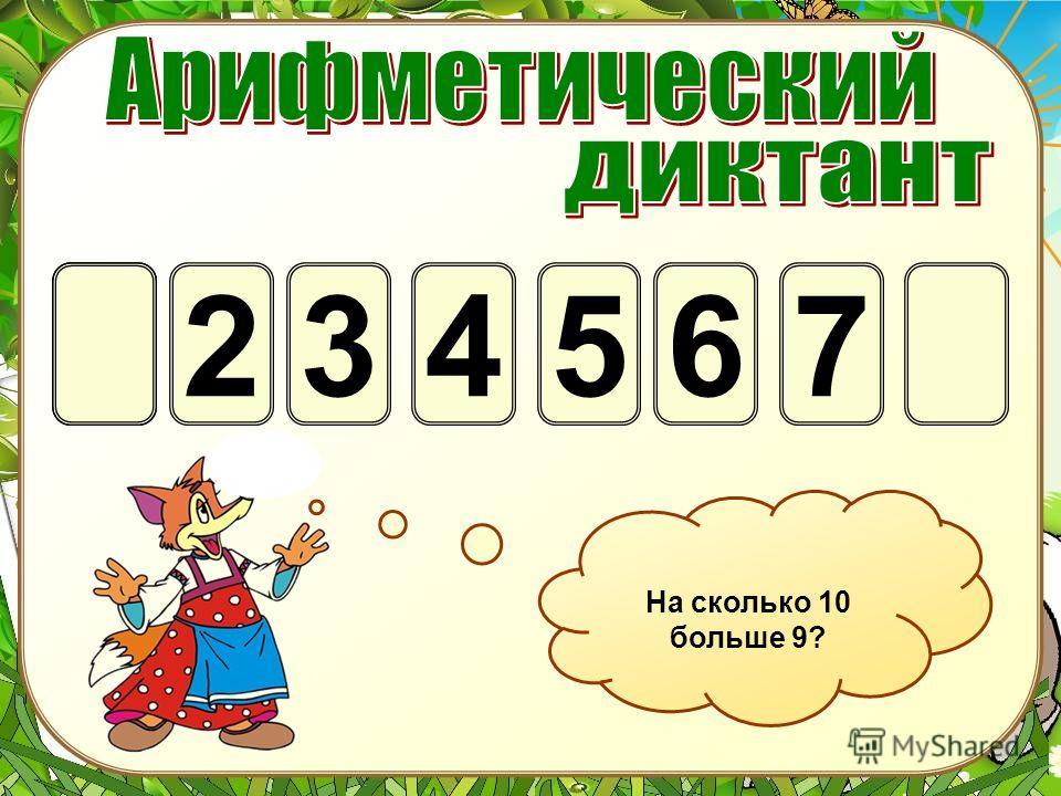 247563 Первое слагаемое 4, второе – 3. Найдите сумму.