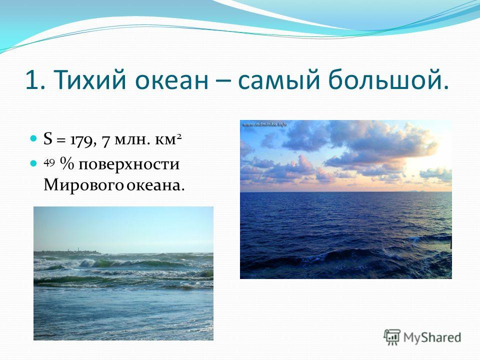 Конспект урока по географии 7 класс тихий океан