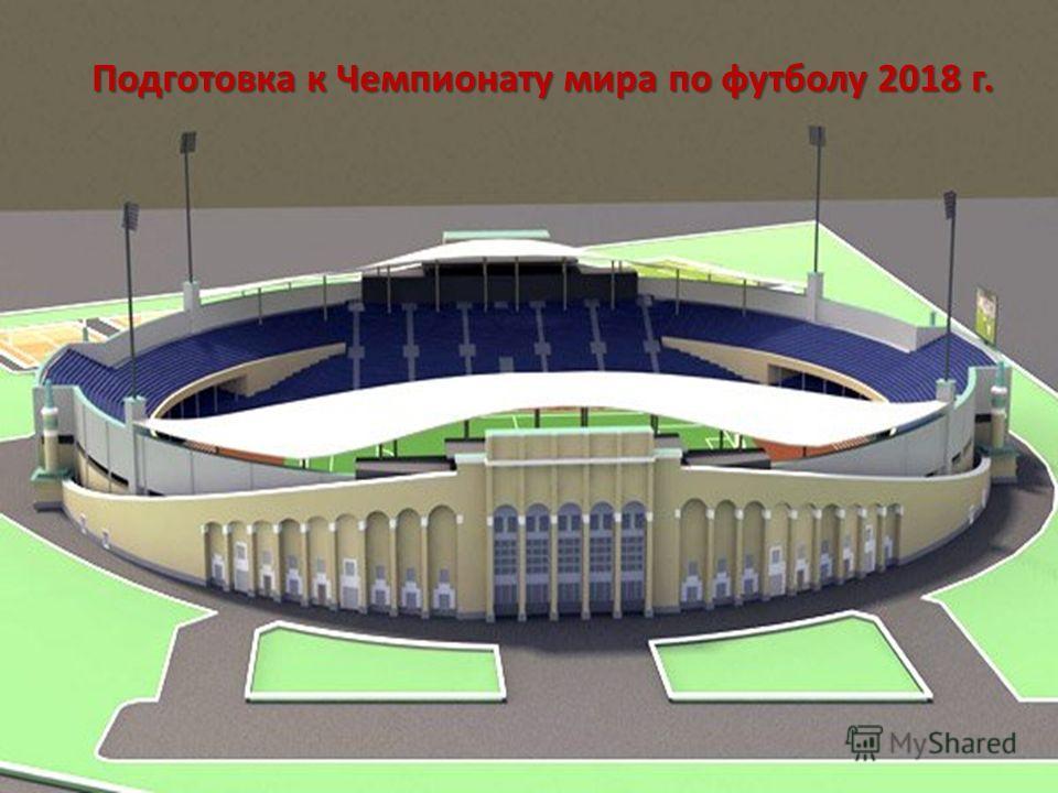 Подготовка к Чемпионату мира по футболу 2018 г.