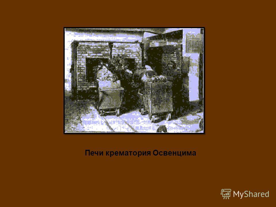 Печи крематория Освенцима