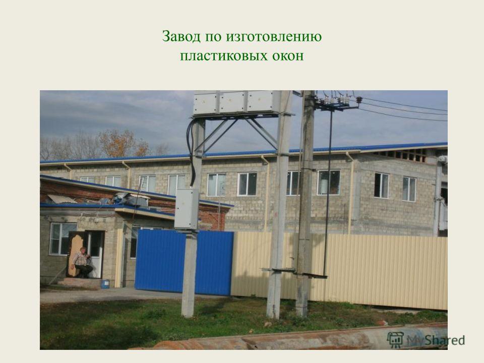 Завод по изготовлению пластиковых окон