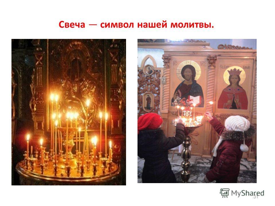 Свеча символ нашей молитвы. 31