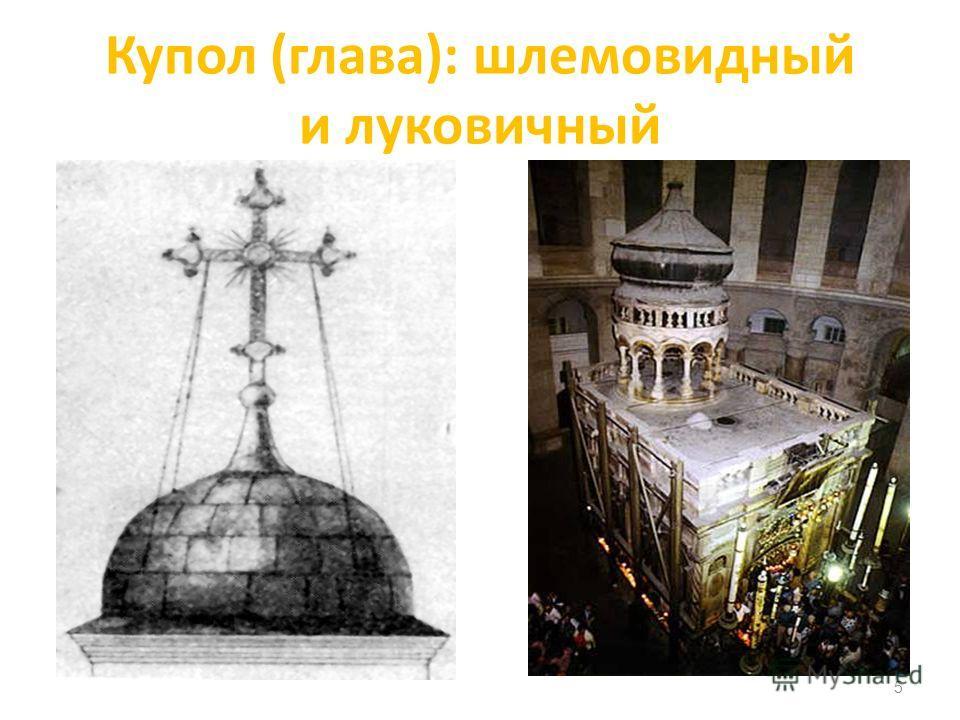 Купол (глава): шлемовидный и луковичный 5