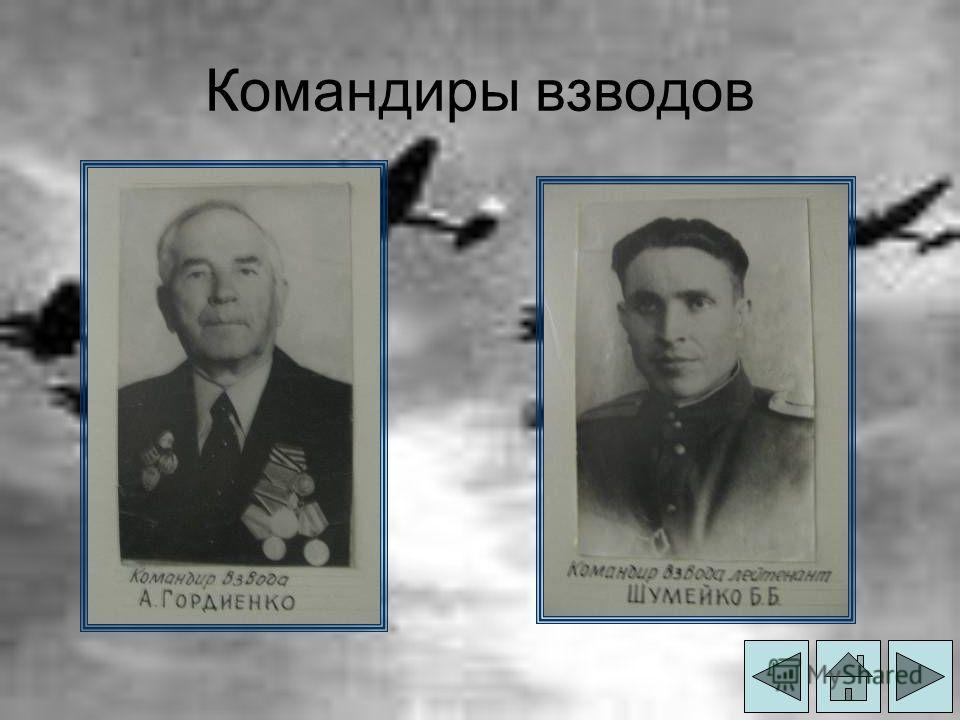 Командиры взводов