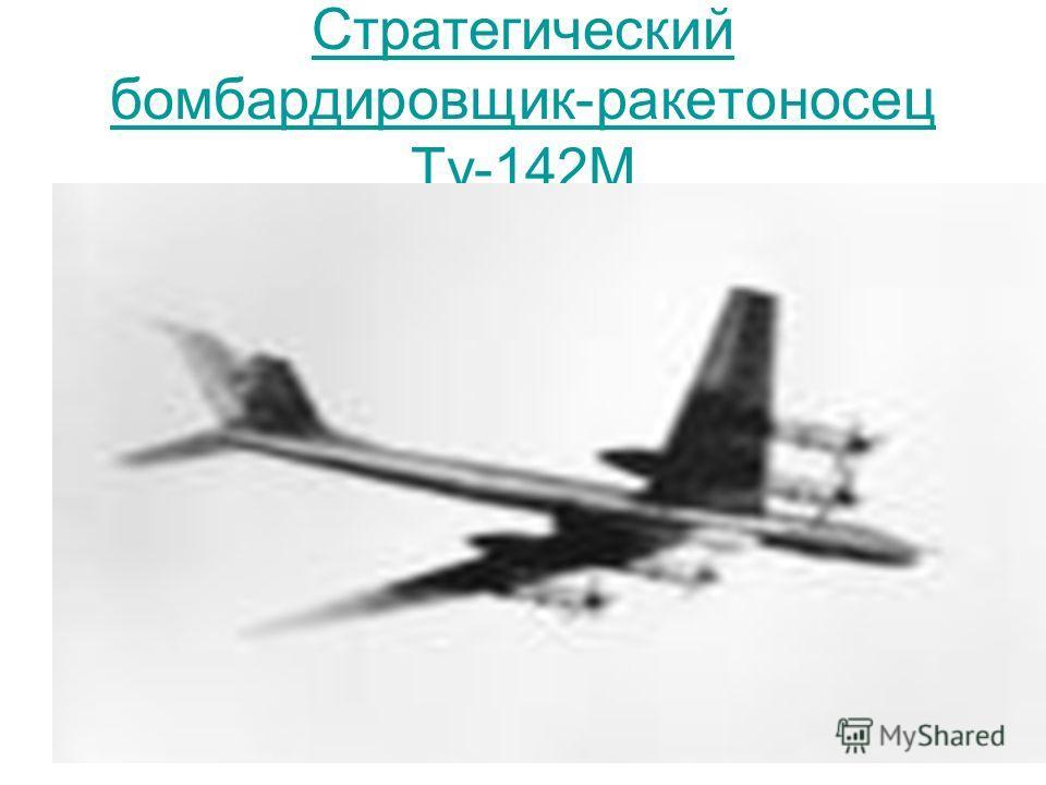 Стратегический бомбардировщик-ракетоносец Ту-142М