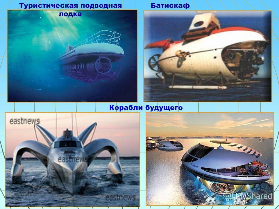 БатискафТуристическая подводная лодка Корабли будущего