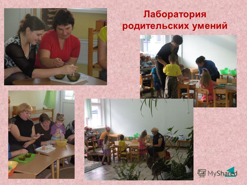 Лаборатория родительских умений