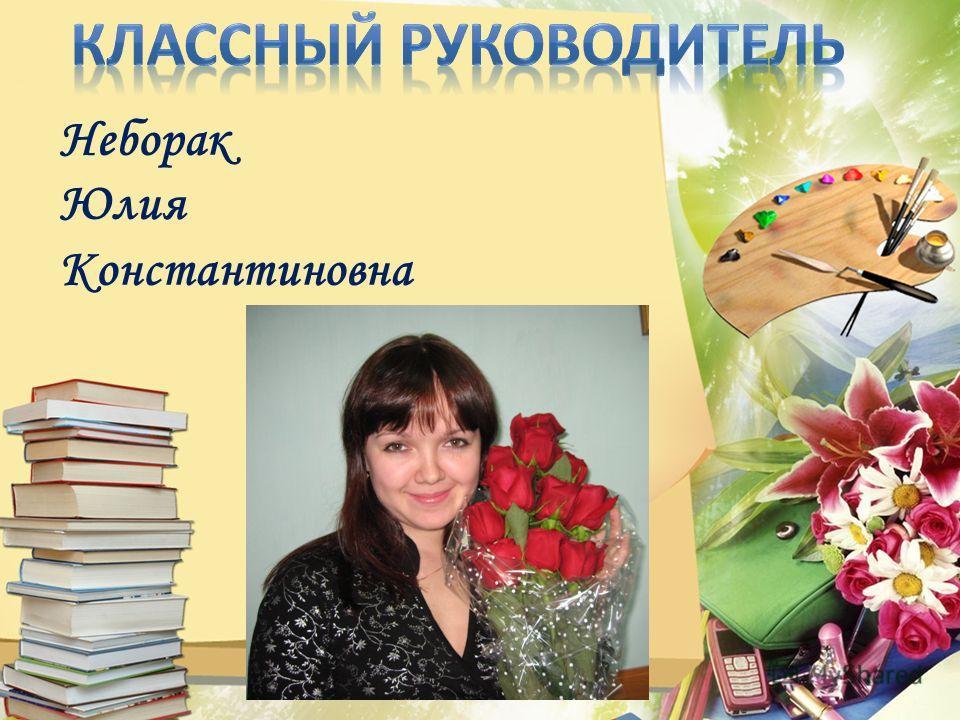 Неборак Юлия Константиновна
