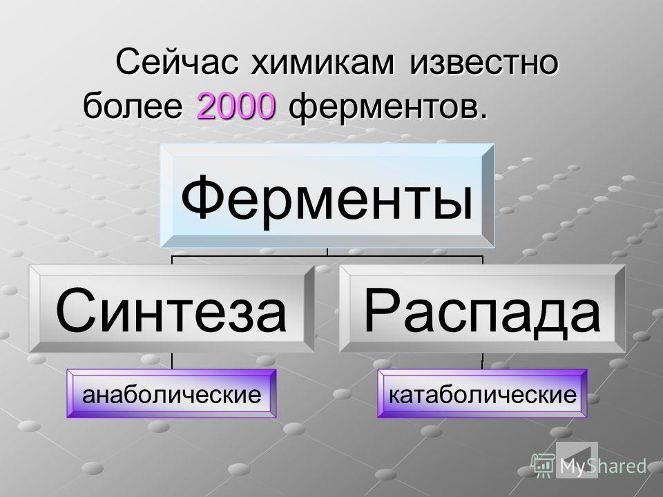 Великий русский физиолог И.П. Павлов назвал ферменты носителями жизни.
