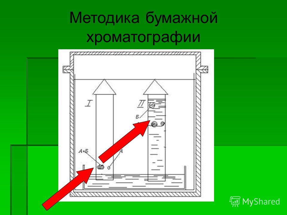 Методика бумажной хроматографии