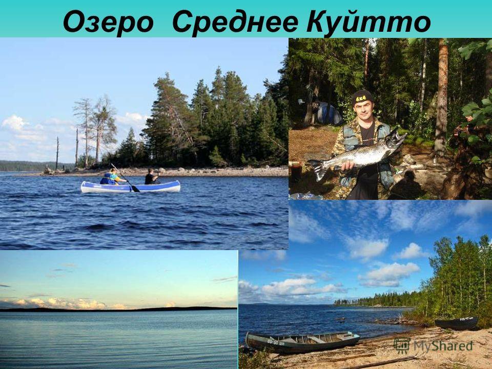 Озеро Среднее Куйтто