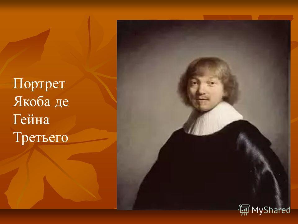 Портрет Якоба де Гейна Третьего