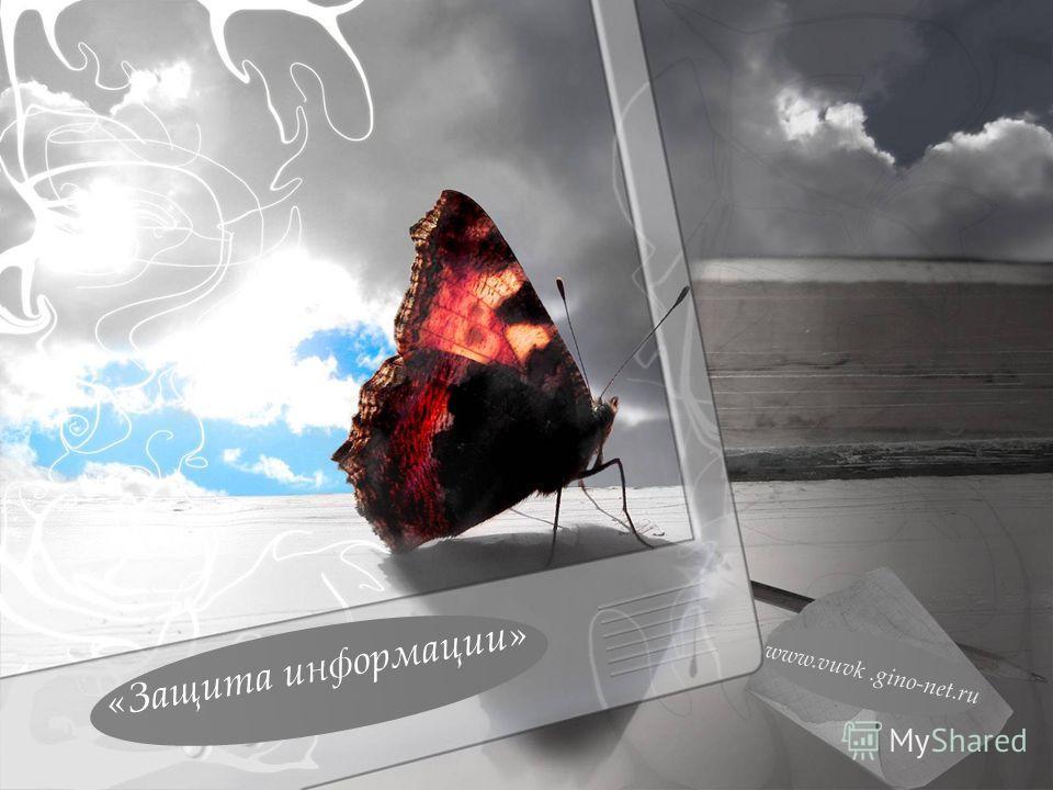 www.vuvk.gino-net.ru «Защита информации»