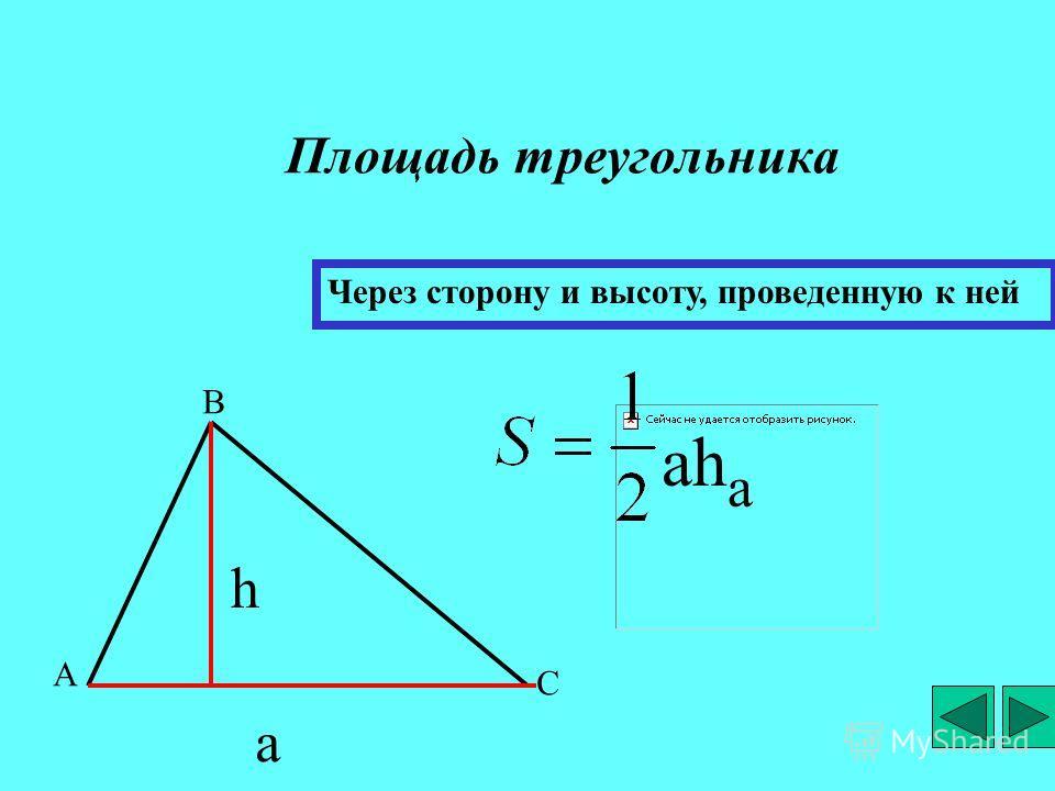 Треугольники Площадь треугольника Презентация выполнена учителями математики: Смирновой Н.П.шк.2 Лихомановой В.И.ПУ81