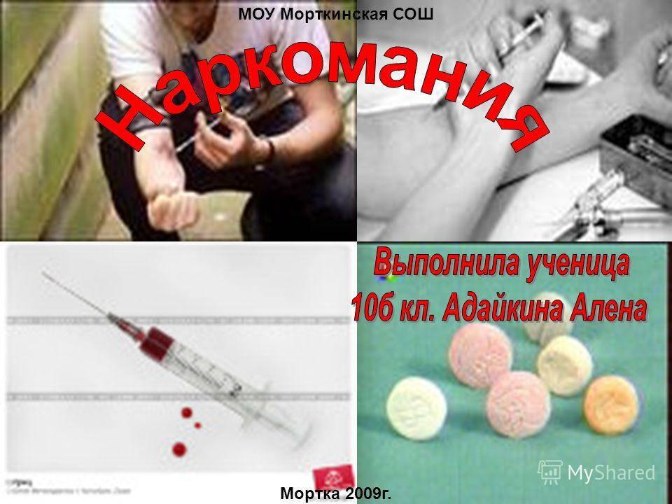 МОУ Морткинская СОШ Мортка 2009г.