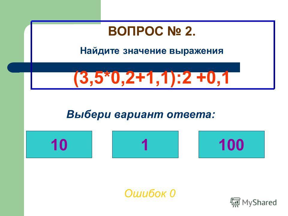 ВОПРОС 1. Найдите значение выражения (0,2*43+0,4):0,3 Выбери вариант ответа: 3030,3