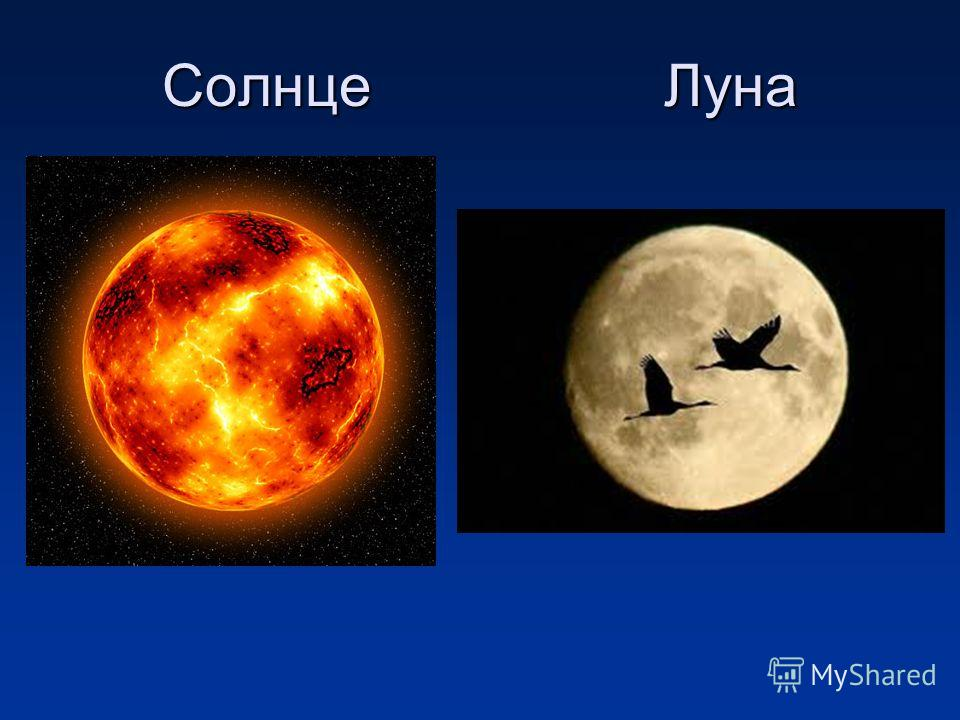 Солнце Луна