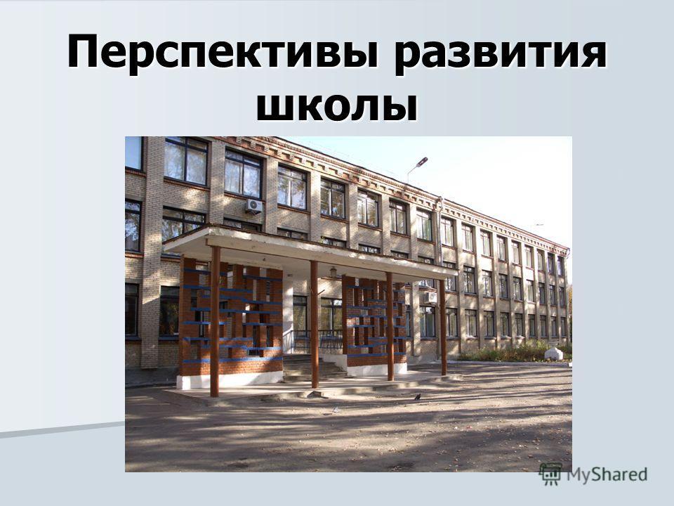 Перспективы развития школы